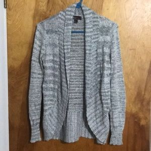 Sweaters - Open-front Cardigan Sweater